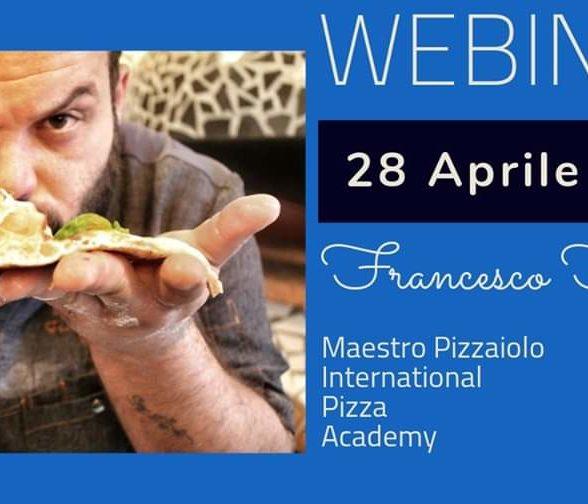 Webinar con il maestro pizzaiolo Francesco Fortuna